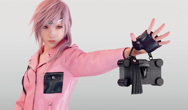 Final Fantasy's last heroine is Louis Vuitton's next model 【Photos】