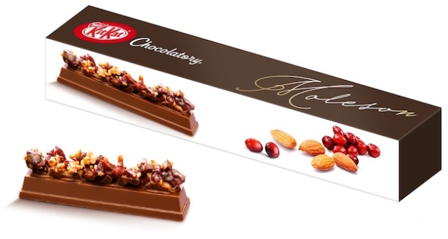 Presenting the Kit Kat Chocolatory Moleson — the first ever Kit Kat with toppings!