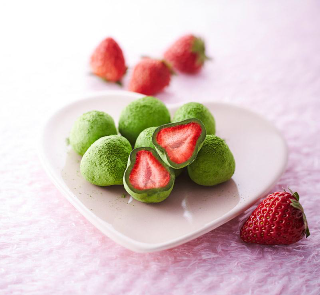 Matcha chocolate-covered strawberries: The newest green tea treat from Kyoto