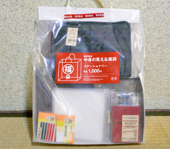 Checking out Muji's lucky bag: Almost 10,000 yen worth of stuff for a fraction of the price