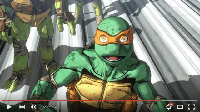 New Japanese-developed Teenage Mutant Ninja Turtles game's trailer looks amazing  【Video】