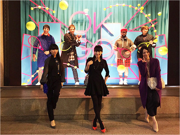 Perfume and OK Go collaborate on theme song for new anime Sushi Police debuting on January 6