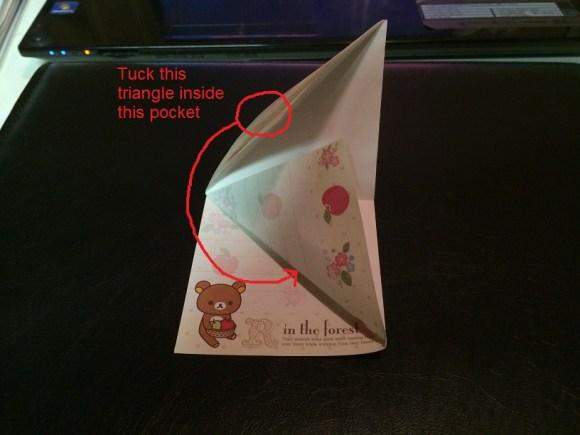 origami bookmark (5-1)