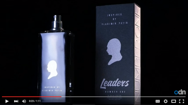 Want to smell like Vladimir Putin? Splash his essence all over yourself【Video】