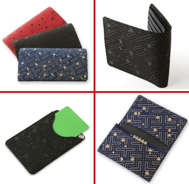 Four-century-old Japanese leatherworker creates stylish line of Pac-Man lacquer wallets, pouches