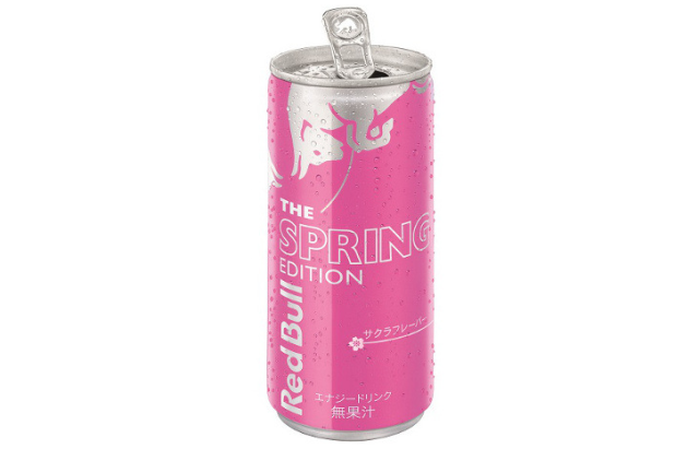 New sakura-flavoured Red Bull to be released in Japan in time for cherry blossom season
