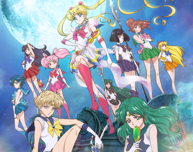 New character designs revealed for Sailor Moon Crystal, including Uranus, Neptune, and Saturn