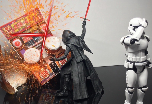 Warning: do not play Taiko no Tatsujin with Star Wars' Kylo Ren【Pics】