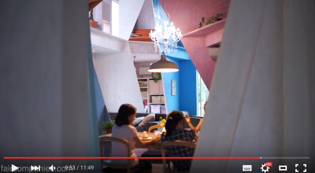 Japanese architect turns eight one-room apartments into quirky Cubism-inspired family home【Video】