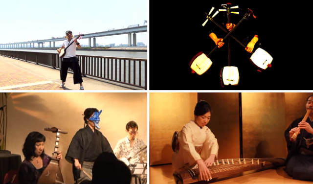Six of our favorite songs performed on traditional Japanese instruments to get you to the weekend