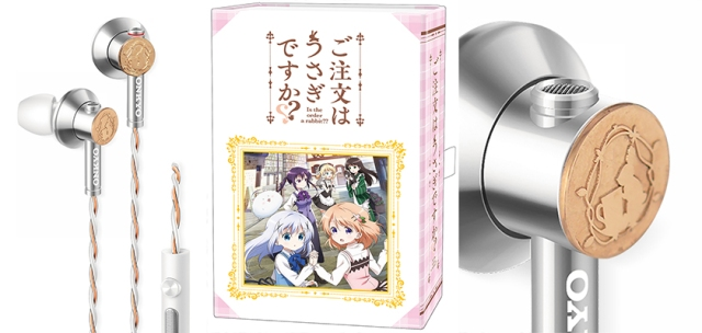 Listen to your anisongs in style with these cute & tasteful hi-res GochiUsa headphones