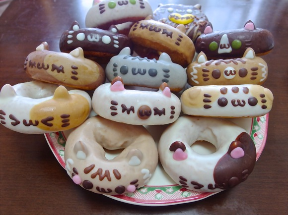 Celebrate Cat Day in Japan with these delicious cat doughnuts from Ikumi Mama Animal Doughnuts
