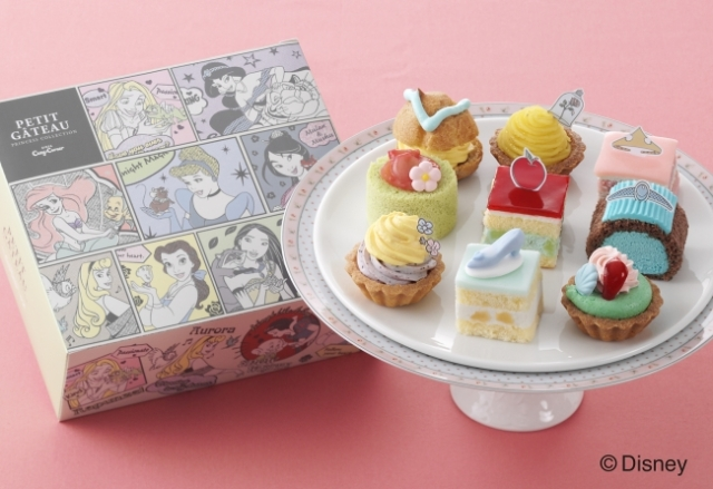 Disney princess cakes from Ginza Cozy Corner are as pretty and sweet as the characters themselves