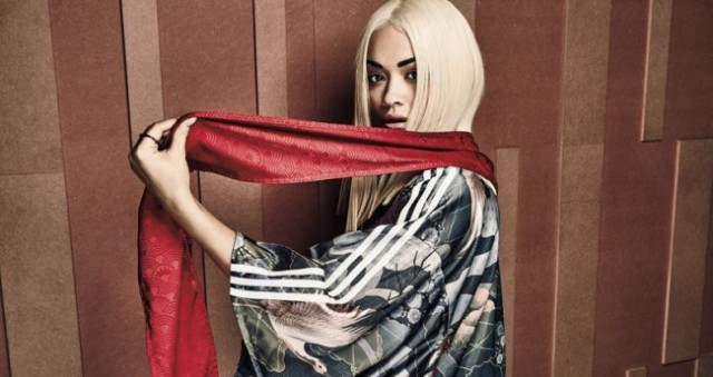 Adidas collaborates with singer Rita Ora to create geisha-inspired collection