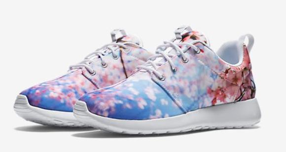 New cherry blossom sneakers from Nike feature real images of sakura in five awesome designs
