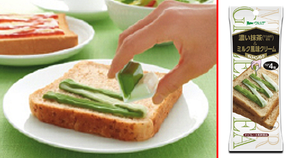 Turn your toast green with new matcha green tea cream spread from Japan