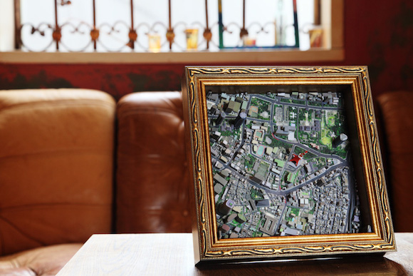 Hang a Japanese city on your wall with these amazingly detailed 3-D printed maps