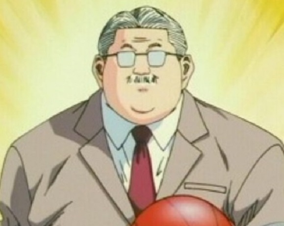 Slam Dunk fans rejoice after spotting a real-life Anzai-sensei on American TV