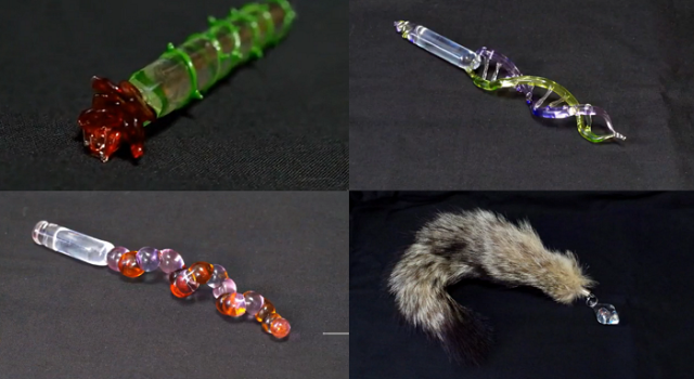Japanese glassworker shows off adult-oriented creations, leaves us impressed and slightly afraid