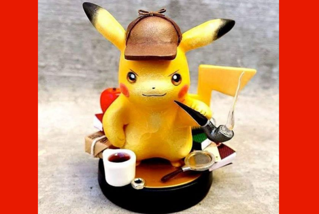 New Detective Pikachu already has an amiibo, unofficially