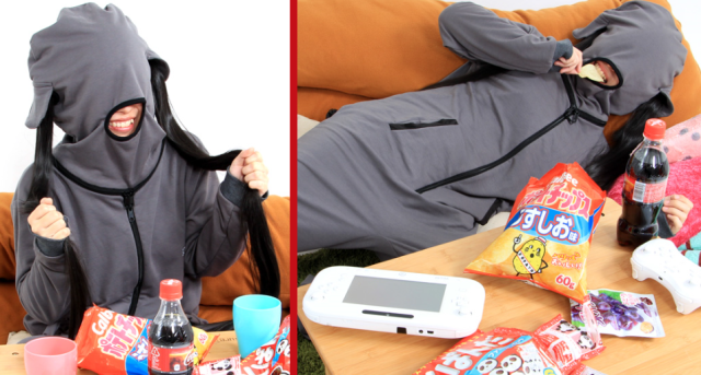 The ultimate pajamas for lazy otaku girls are now on sale in Japan 【Photos】