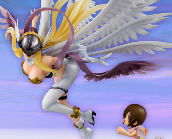 Busty Digimon anime figure not child-friendly enough for the West, now barred from sale overseas