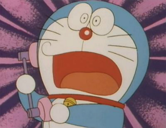 For a limited time you can dial up and talk to Doraemon on the phone