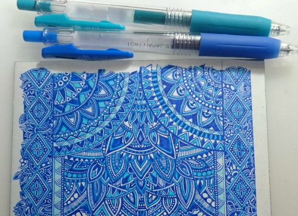 Japanese Twitter user's ridiculously detailed ballpoint pen art goes viral