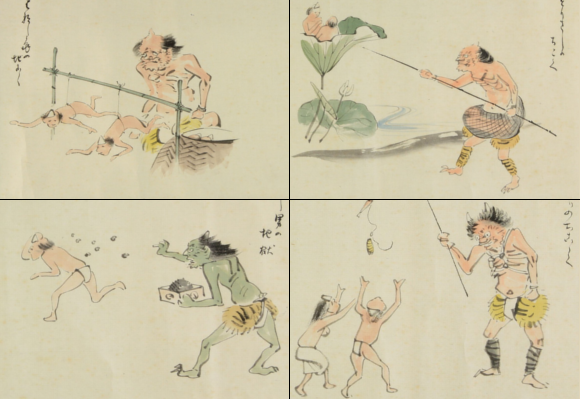 """Meiji-era Japanese """"Hell Picture Book"""" is far more hilarious than horrifying 【Pics】"""