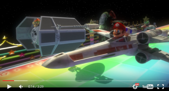 Please make Star Kart, the Star Wars/Mario Kart crossover, a real game immediately!【Video】