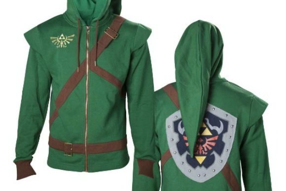 Hey, listen! Realistic-looking The Legend of Zelda hoodie now available to pre-order