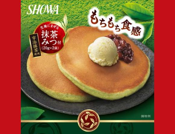 Matcha green tea pancake mix coming to Japanese grocery stores next month