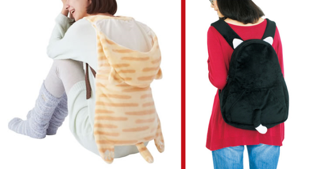 Piggybacking Japanese cat capes and kitty backpacks will keep you warm and mobile 【Photos】