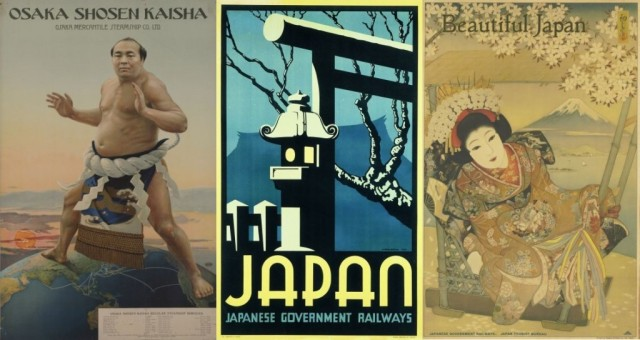 Travel back in time with these tourism posters from early 1900s Japan 【Pics】