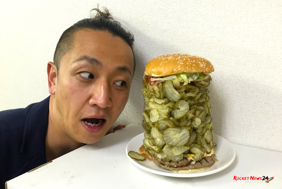 This is what happens when you order US$80 of extra pickles on a Burger King Whopper