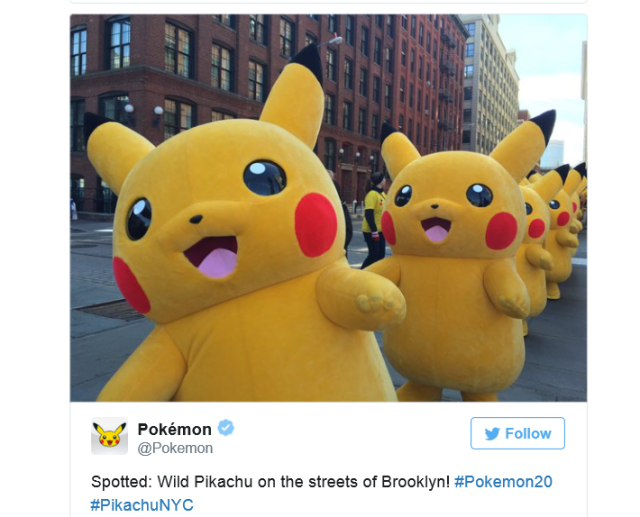 Pikachu outbreak happens again, this time in New York! 【Photos/Videos】