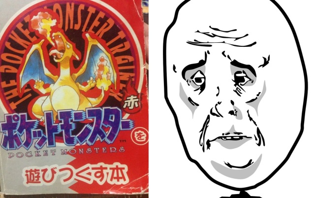 The original Japanese Pokémon Red strategy guide is kind of depressing