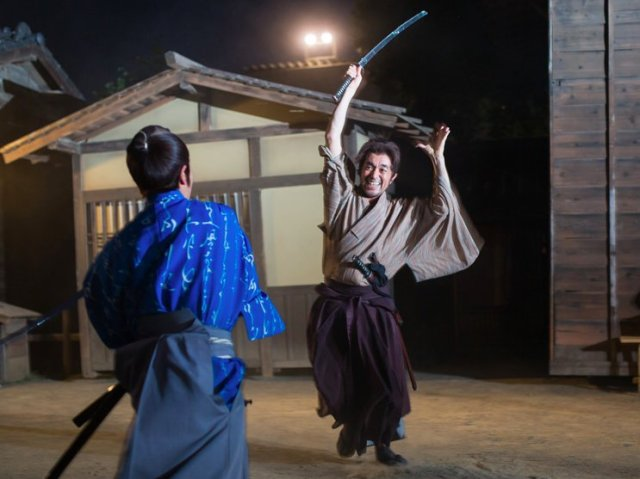A Japanese actor is killed after being stabbed with a prop samurai sword