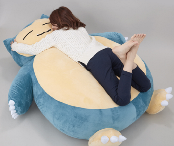 Soon you'll be able to snore away on your very own Snorlax Pokémon bed
