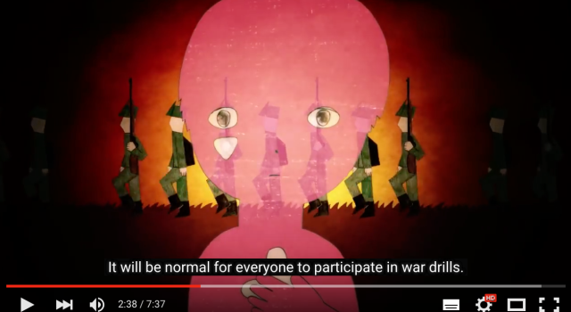 Powerful new animation for anti-war book speaks volumes about the present day【Video】