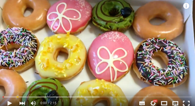 Blast away your winter blues with these new springtime treats from Krispy Kreme Japan【Video】