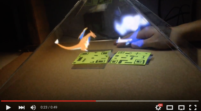 Pokémon fan creates spectacular 3D hologram battle dome entirely from scratch【Video & Pics】