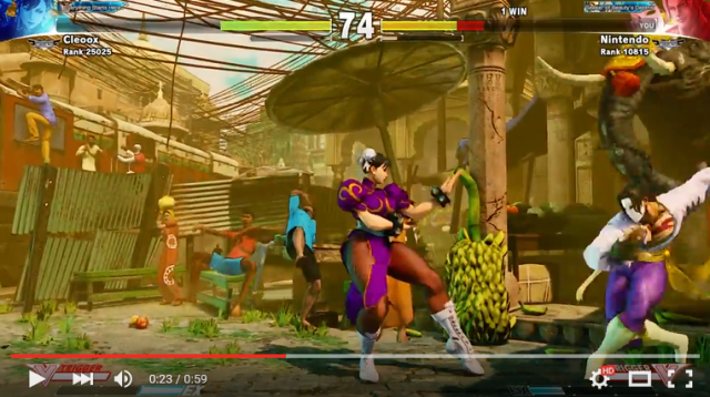 Chun-Li's boobs aren't the only things that can defy gravity in Street Fighter V 【Video】