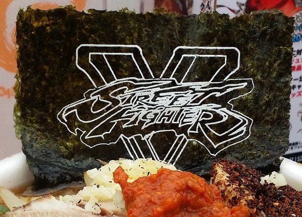 Love Street Fighter and ramen? Then you'll want to head to Shinjuku Station tonight or tomorrow!