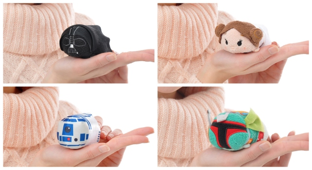 Disney launches cute, chubby line of Tsum Tsum Star Wars characters in Japan 【Photos】