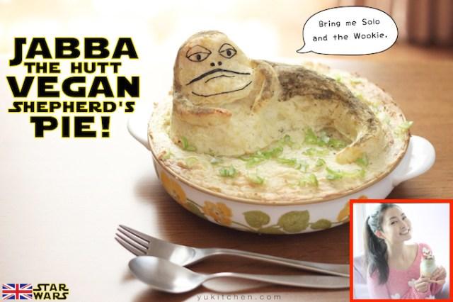 Yukitchen presents: Jabba the Hutt Vegan Shepherd's Pie【Recipe】