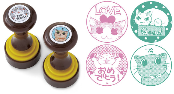 New cat stamps from Japan give you a cute kitty emoji for any occasion