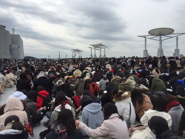 Female anime fans swarm Tokyo convention site in massive numbers 【Photos】