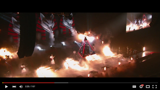 "Babymetal debuts music video ""The One"", featuring English lyrics and giant fox heads"