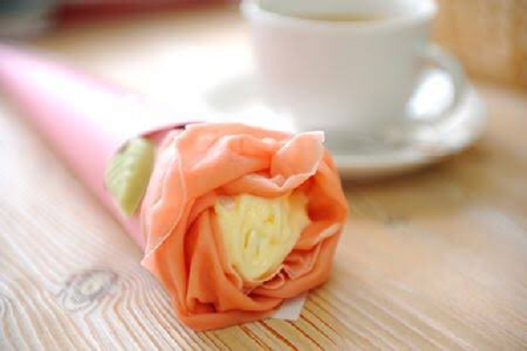 "Japan's ""camellia crepes"" look blooming delicious 【Photos】"